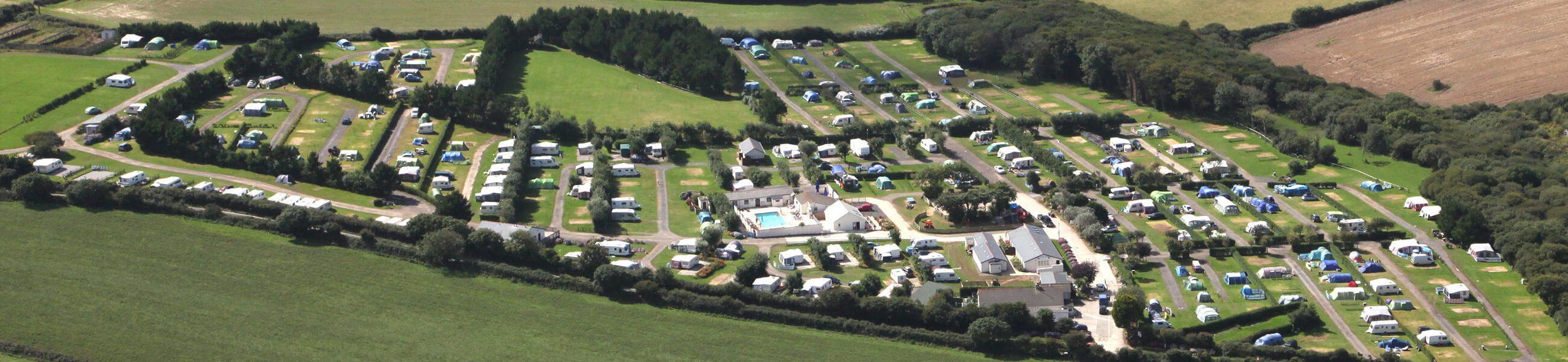 camping touring park cornwal